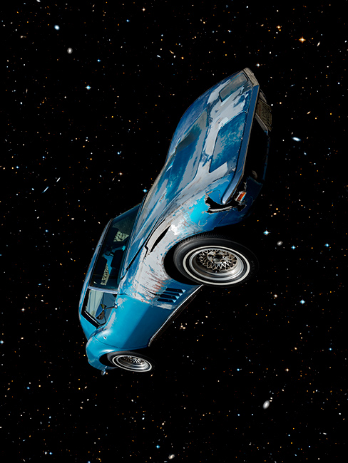 Old Cars In Space (blue).72